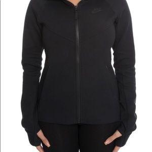 Nike Women's ZIP up Black Hoodie
